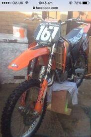 Ktm 125 cc scrambler motocross bike