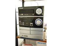 SHARP MINI COMPONENT SYSTEM - MODEL CD MPH860H