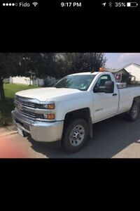 2015 Chev 3500 Regular cab long box