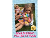 Bear & Unicorn Building Birthday Parties