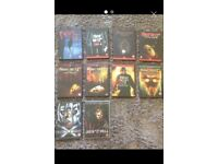 Collection of 10 Friday the 13th DVD's