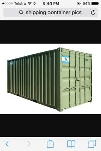 Wanted: UNWANTED SHIPPING CONTAINERS - FREE REMOVAL