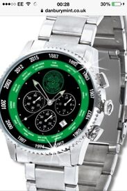 The History of Celtic FC Gents Watch New & Unused