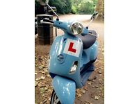 450 miles. Vespa Piaggio LX. 2008. Good condition. MOT until 06/17.