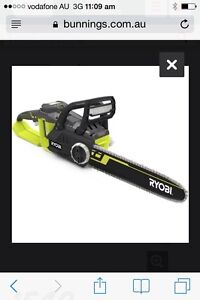 Ryobi 36v chainsaw Campbelltown Campbelltown Area Preview