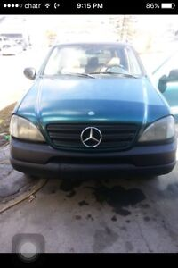 1998 Benz ml 320 fully loaded all wheel drive no issues