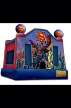 $160 Superman Jumping Castle Hire Mornington Mornington Peninsula Preview