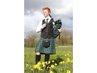 Professional Piper/Bagpiper and Highland Dancer/Drummer Available for Weddings, Parties, Events etc.