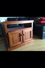 Timber TV cabinet Ascot Vale Moonee Valley Preview