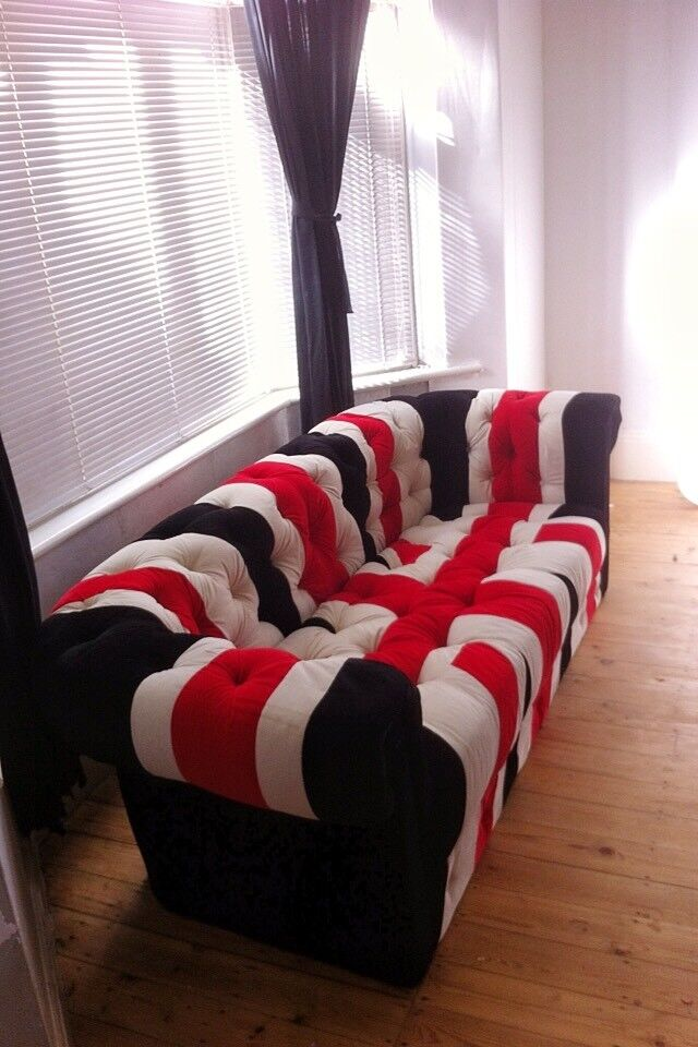 Union Jack Chesterfield Sofa In West Bridgford