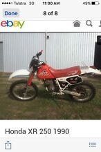 Xr250 1990 Not running Corrimal Wollongong Area Preview