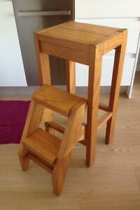 URGENT - Solid Timber Stool / Step Ladder Artarmon Willoughby Area Preview