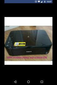 Canon pixma wifi enabled printer/scanner