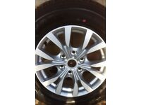 NEAR NEW 2015 MITSUBISHI L200 BARBARIAN 245/65 R17 SET 4 ALLOY WHEEL RIMS TYRES ANIMAL TROJAN 4LIFE