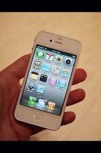 White iPhone 4 Werrington Penrith Area Preview