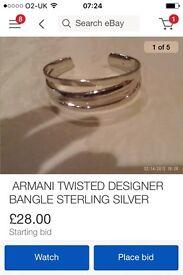 Armani bracelet sale