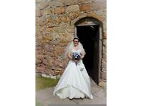 Size 16 ivory wedding dress