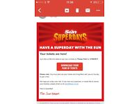 Thorpe Park X2 Adult or child Entry (RRP £80) 27.06.17