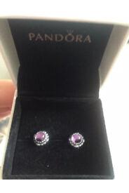 Pandora earrings genuine