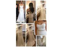 Wedding dress, unworn,unaltered, fresh from store