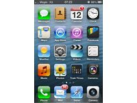iOS 6 iPhone 4s 16gb black