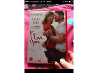 Ps I love you DVD.