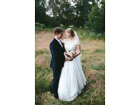 Naomi Neoh (Chloe) Wedding Dress and Augusta Jones Jacket