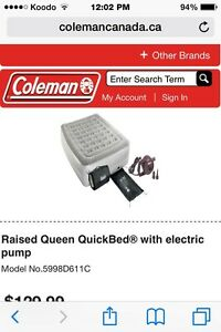 Coleman Raised Quickbed Queen
