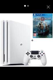 PlayStation 4 Pro - Glacier White - Brand New Box Unopened