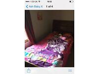 Single bed ( mattress perfect )