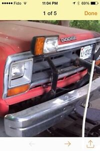 1991 Factory made dodge plow mount