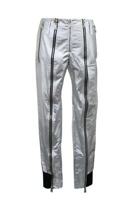 PACO RABANNE 14ECPA006P0003001124 SILVER CASUAL PANTS S 38 for sale  Shipping to India