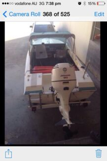 Pride boat Johnson 90hp East Maitland Maitland Area Preview