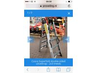 Cosco superfoods 150kg folding ladders