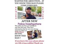 STOLEN DOG... DO YOU KNOW THIS MAN?