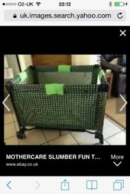 Mothercare Travel Cot / Playpen