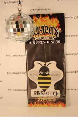 Bee Otch Air Freshener Disco Ball Combo Transformers Beeotch Bumblebee Beetle Vw