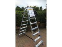 NEW 8 Step Double Sided Stepladder