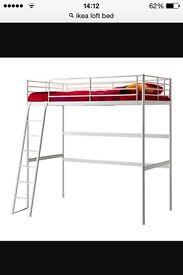 IKEA double loft bed like new