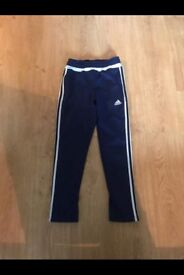 Boys adidas tracksuit bottoms. Age 11 - 12 years. 3 pairs