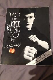 Bruce lees book on martial arts