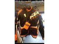 Ktm power wear jacket brand new
