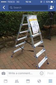 New 6 Tread Double Sided Stepladder