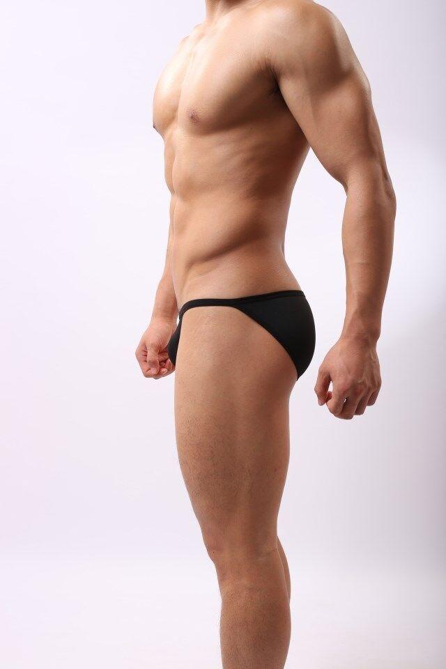 USA Seller Men's bikini briefs underwear Thongs G-string Swimwear BRAVE PERSON