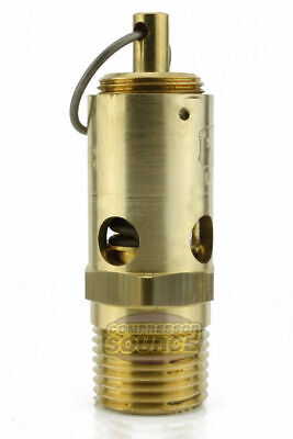 New 12 Npt 125 Psi Air Compressor Safety Relief Pressure Valve Tank Pop Off