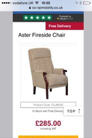 New Aster high back chair