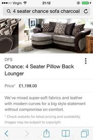4 seater chance sofa DFS