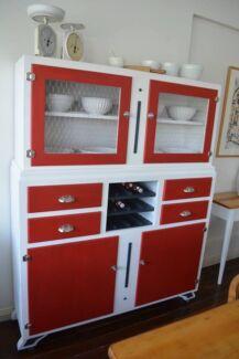 Retro/Vintage Kitchen Hutch