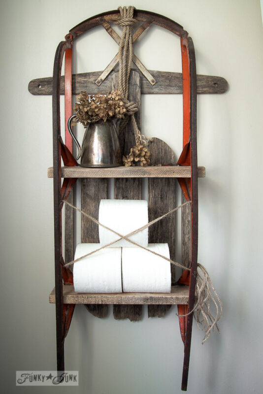 Quirky Upcycled Storage Ideas For Your Bathroom Ebay