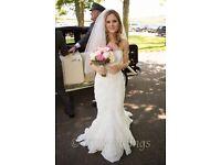 Ellis bridal wedding dress 11330 size 8